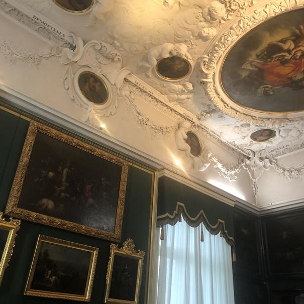 wnętrze Pałacu w Wilanowie