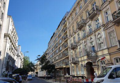 Mokotowska - widok ulicy